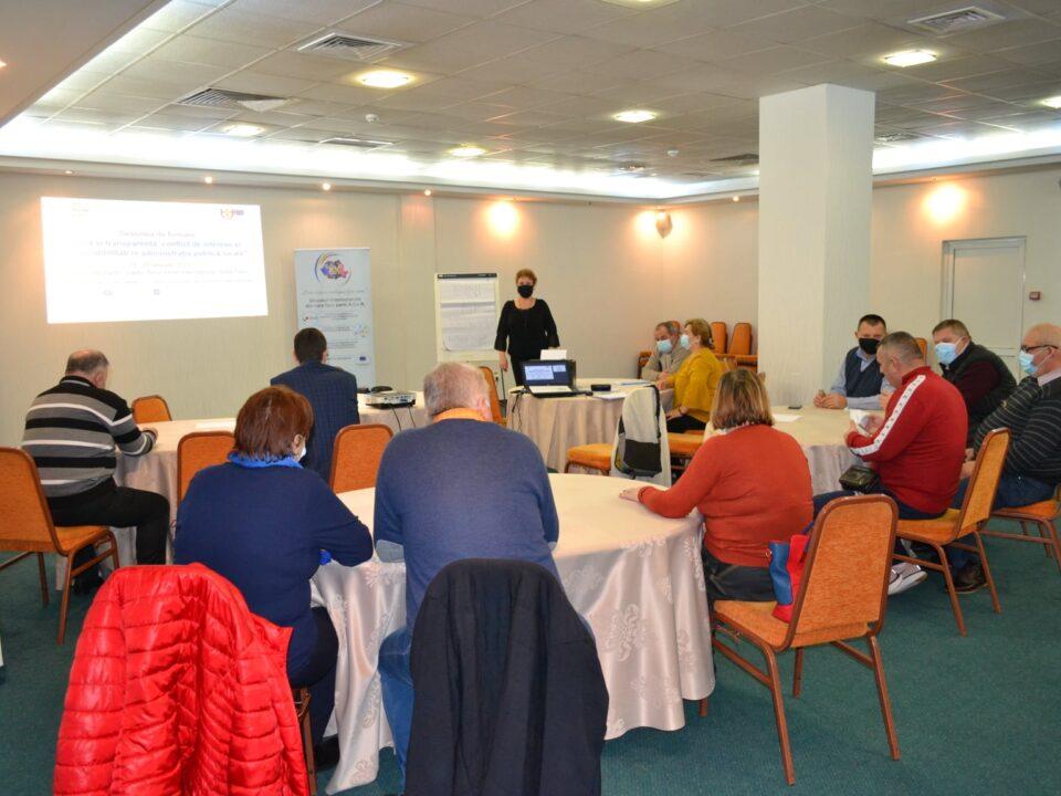 O nouă sesiune de formare la nivel județean, pentru reprezentanții comunelor din județul Botoșani