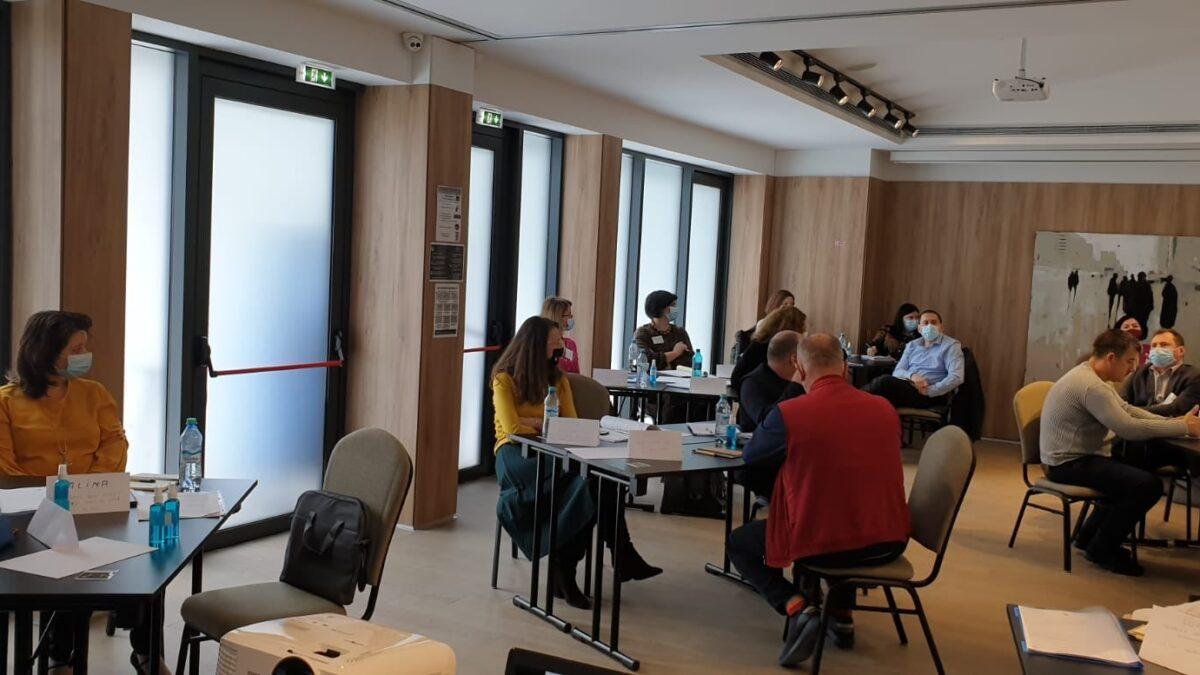 Primul modul al cursului de formare de formatori s-a desfășurat în perioada 21 – 24 ianuarie