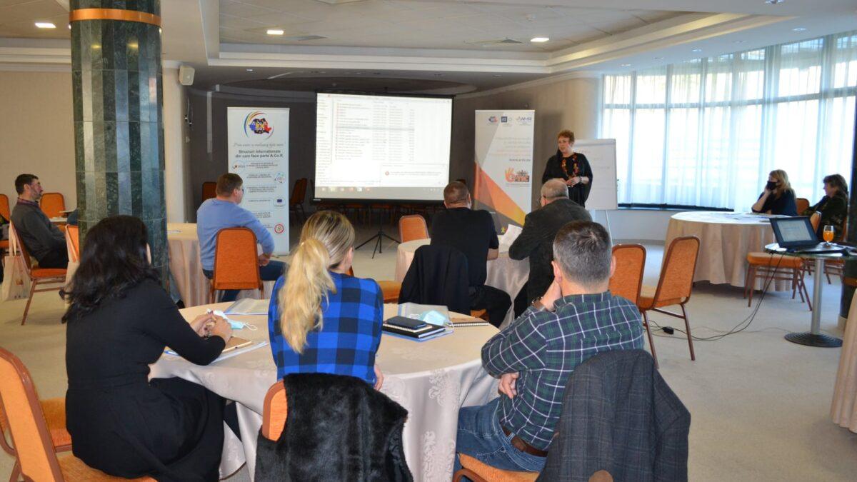 Sesiune de formare la nivel județean, pentru reprezentanții a 10 comune din județul Suceava