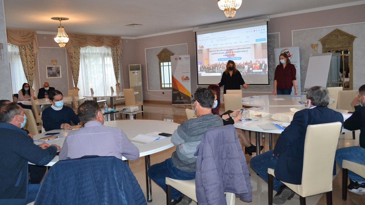 Sesiune de formare pentru reprezentanții comunelor din județul Olt